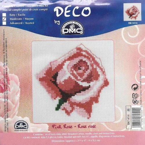 Pink Rose Mini - BK1414