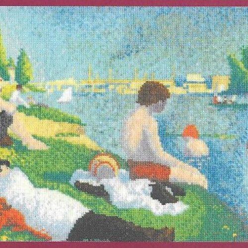 Seurat - Bathers at Asnières