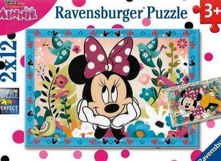 Flowers for Minnie jigsaw puzzle