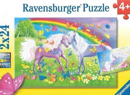Rainbow Horses puzzles